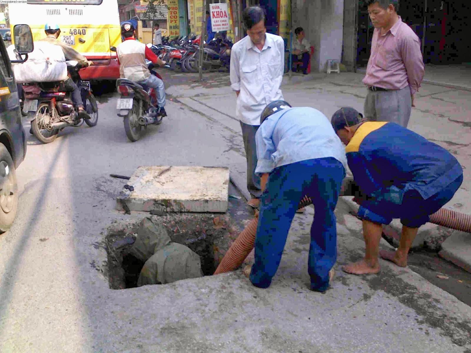 Thông cầu cống nghẹt nghẹt tại Đà Nẵng quận Liên Chiểu